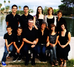 Fabry Family, October 2011