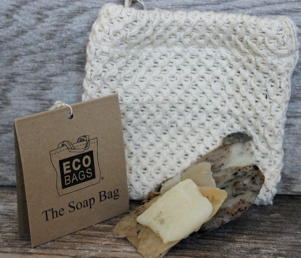 Soap Bag with Scraps