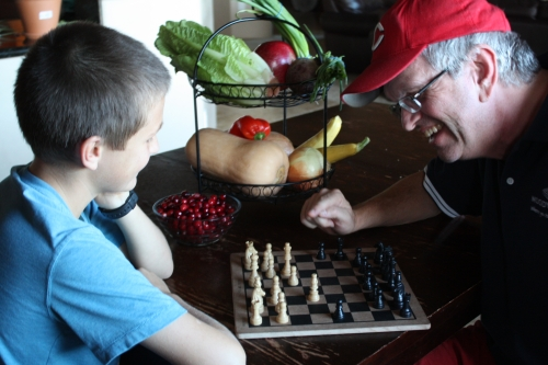 Holiday Chess Match