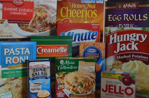 Processed Boxed Foods